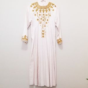 Dresses & Skirts - Vintage Embroidered Ethnic Dress